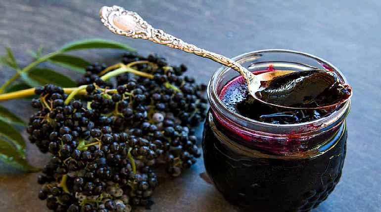 Варенье из черных ягод