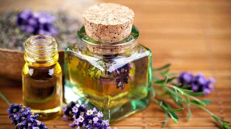 Масло из цветов лаванды