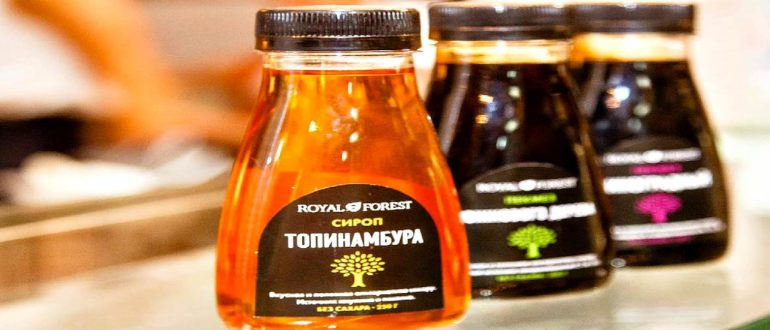 Топинамбур сироп польза и вред