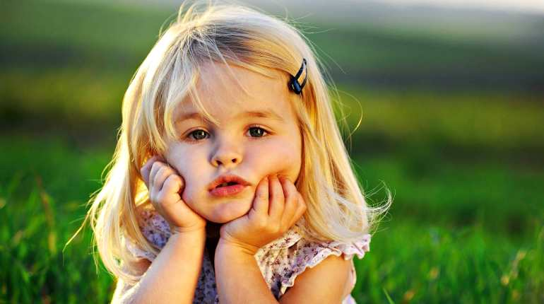 Ребенок в размышлениях