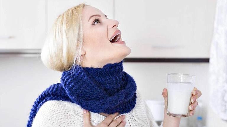 Полоскание горла при простуде беременным 33