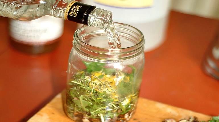 Настойки на спирту на травах в домашних условиях 733
