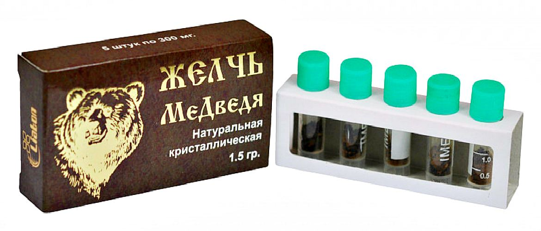 """""""Желчь медведя"""" препарат"""