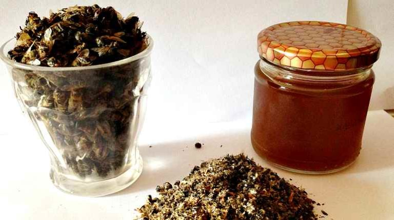 Как сделать спиртовую настойку на пчелином подморе