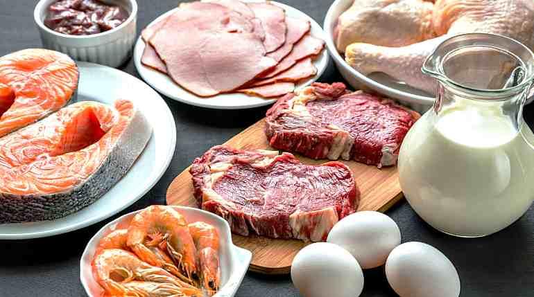 Мясо, курица, молоко, яйца