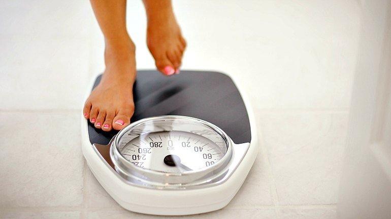 Большой вес тела