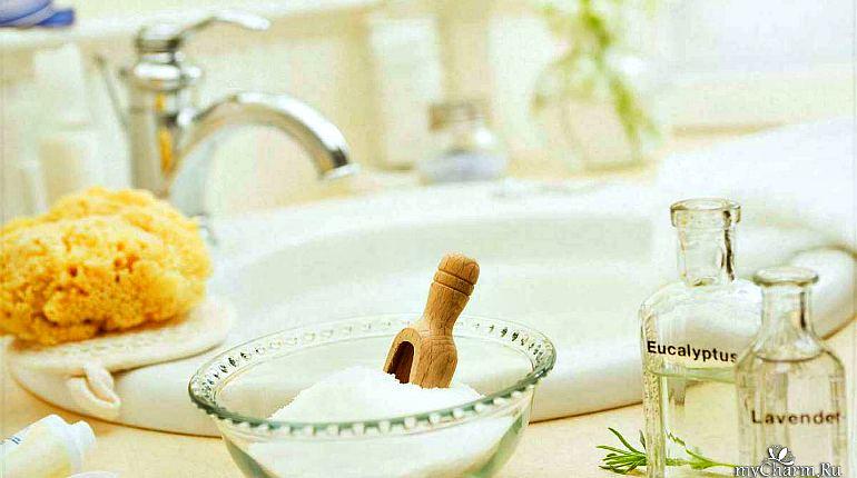 Ванна с гималайской солью