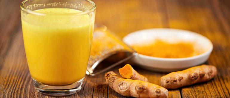 Куркума и апельсиновый сок
