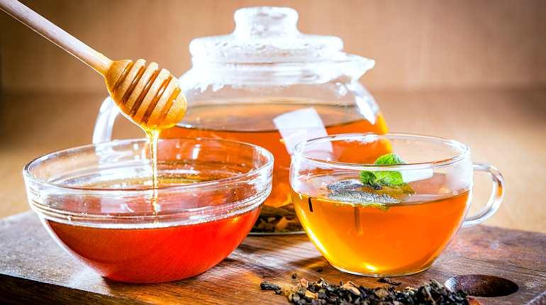 Мед, чай, травы