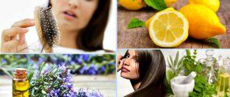 Отвар и настойка для укрепления волос