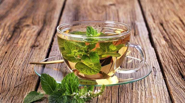 Чай с мятой и липой