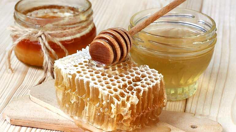 Приготовление скраба из меда