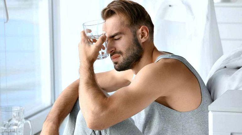 Похмельный синдром у мужчин