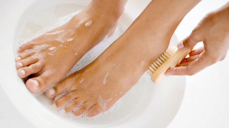 Лечение сухих мозолей на ступнях