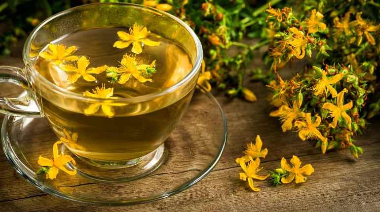 Успокаивающий чай из зверобоя