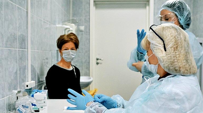 Госпитализация больной коронавирусом