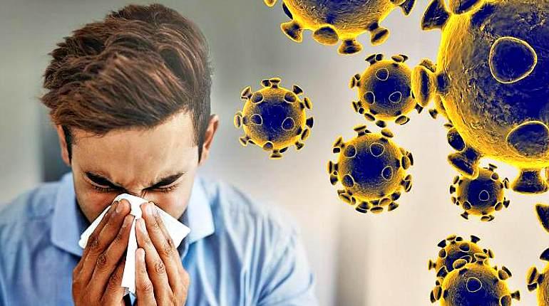 Воздушно-пылевой путь заражения вирусом
