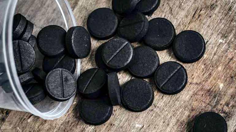 Таблетки черного угля