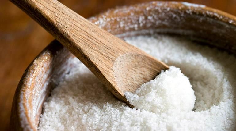 Пищевая соль для растирки