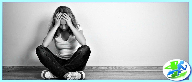 У женщины депрессия