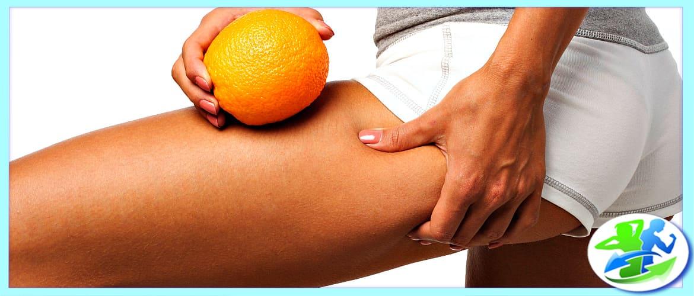 Апельсиновая корка на ляшках и попе