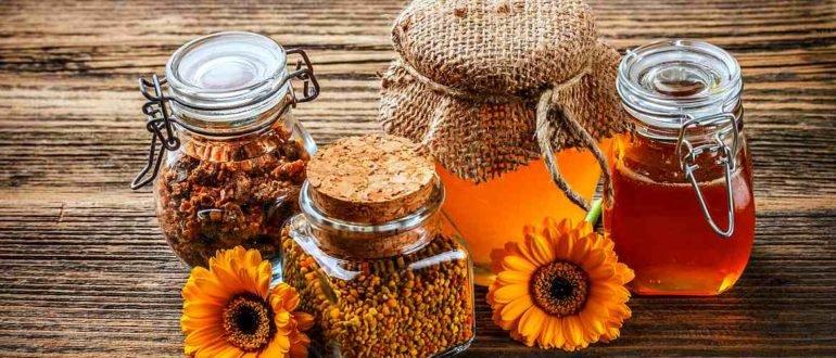 Прополис и мёд