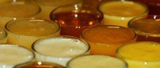 Разнообразные сорта меда