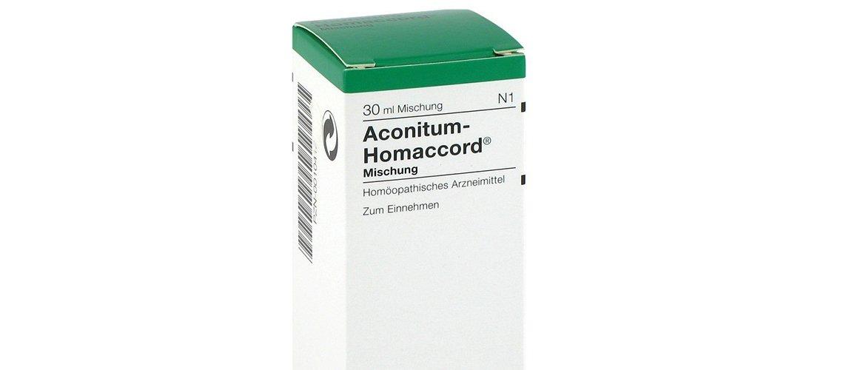 Гомеопатическое лекарство Аконитум