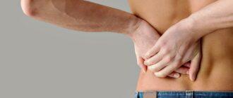 Боль в почках и спине