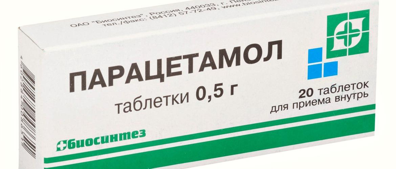 Препарат Парацетомол